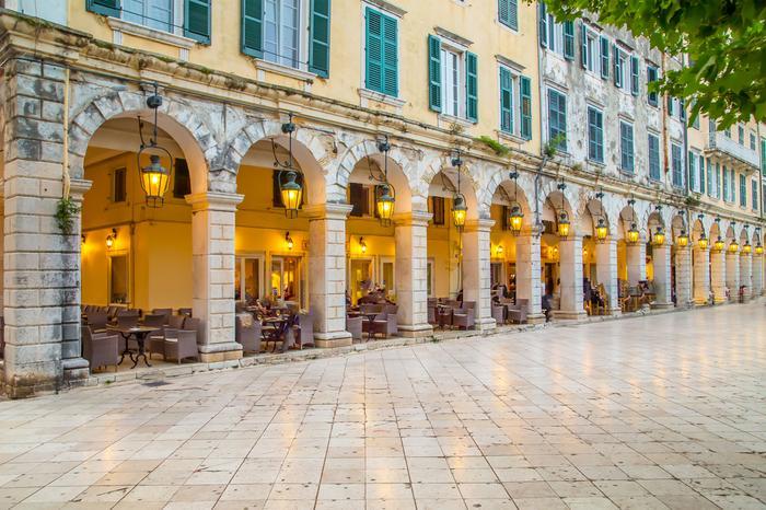 Miasto Korfu