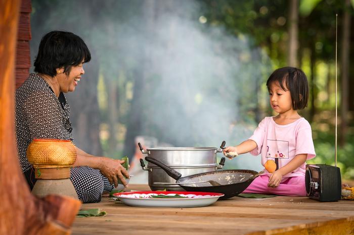 Wspólne gotowanie (Tajlandia, kuchnia tajska)
