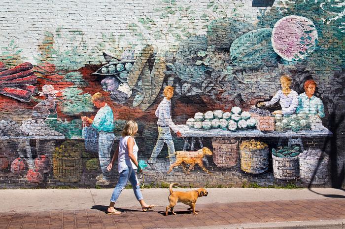 Street art w Toronto
