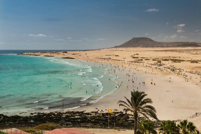 Plaża i wydmy Corralejo