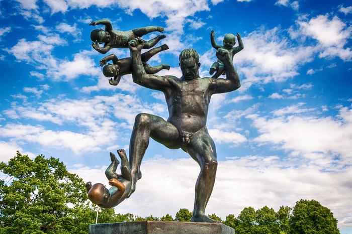 Park Vigelanda w Oslo