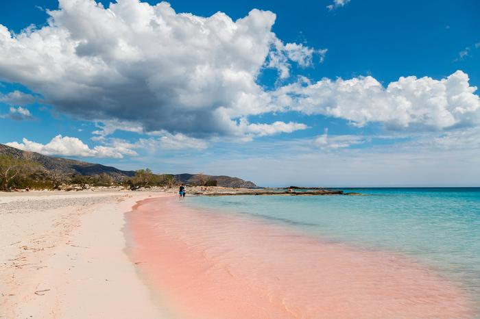 Plaża Elafonisi na Krecie