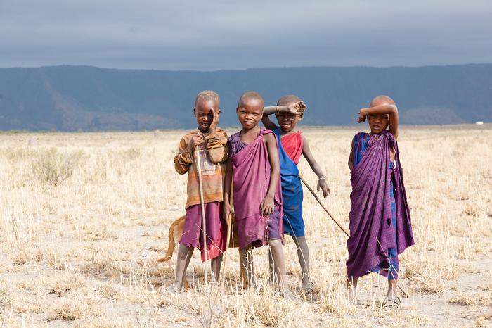Mali mieszkańcy Tanzanii