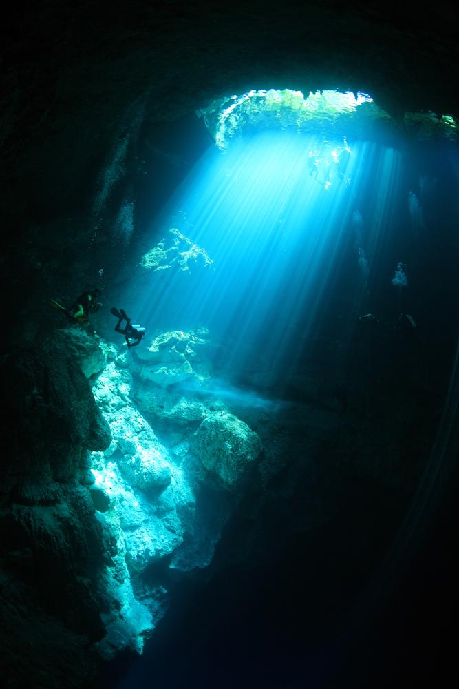 Podwodny świat cenotes, Meksyk