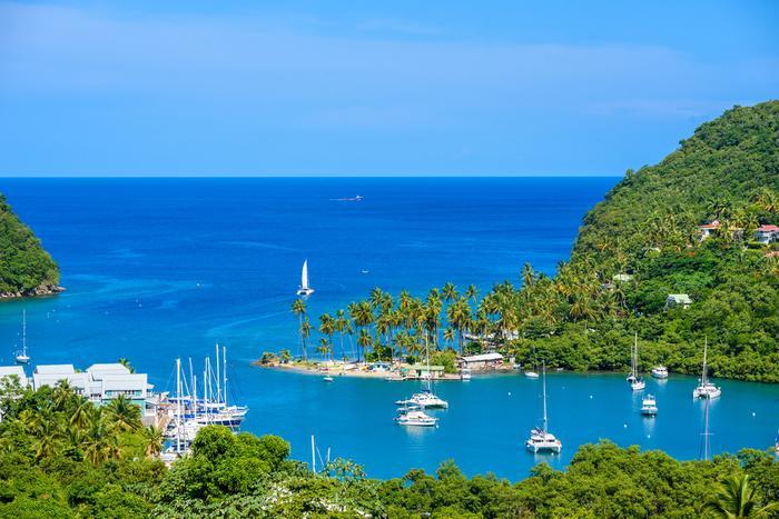 Marigot Bay, St. Lucia
