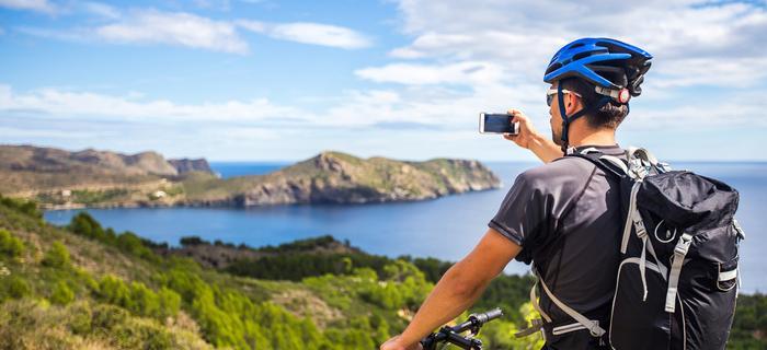 Costa Brava rowerem