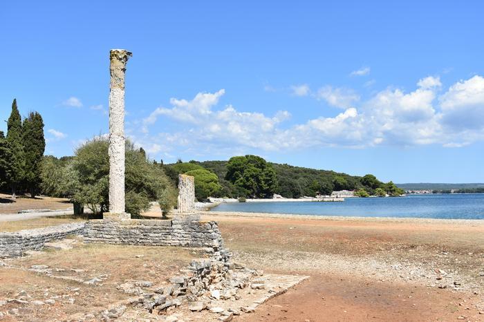 Ruiny z czasów rzymskich na Veli Brijun