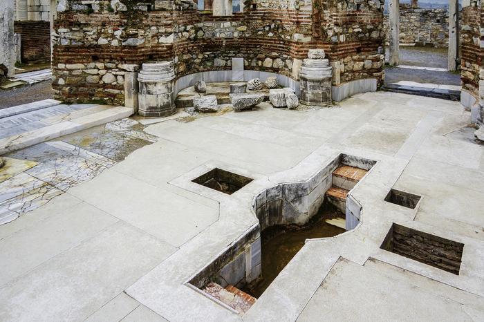 Ruiny bazyliki św. Jana