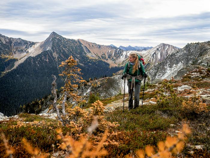 Kamila Kielar trzy tygodnie przed końcem wędrówki Pacific Crest Trail