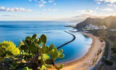 Playa de las Teresitas na Teneryfie