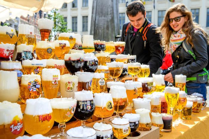 Piwa belgijskie słyną na całym świecie