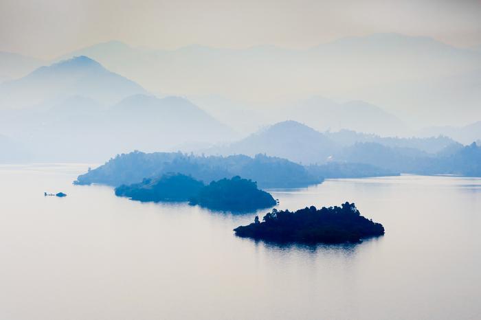 Jezioro Kiwu, Rwanda
