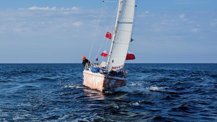 """""""Atlantic Puffin"""" – takie imię nosi łódź, którą Szymon Kuczyński dwa razy opłynął Ziemię"""