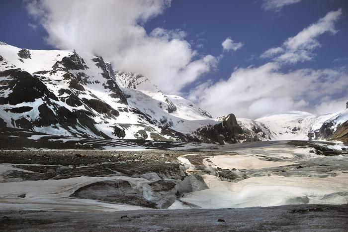 Za chmurami kryje się Grossglockner (3798 m n.p.m.)