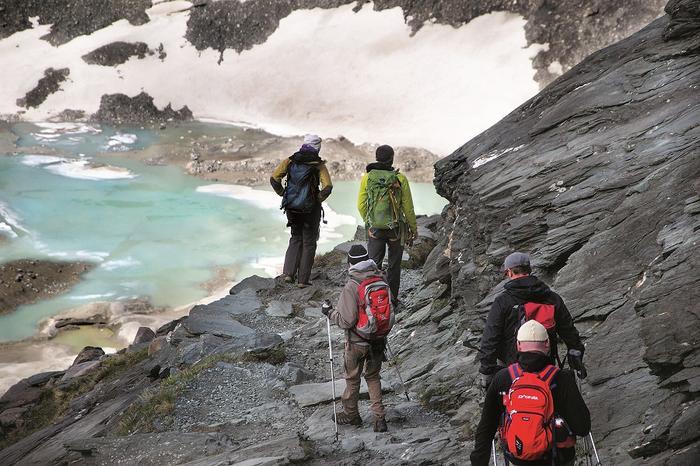 Trekking na lodowcu Pasterze