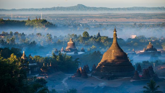 Mrauk U (Arakan, Birma)