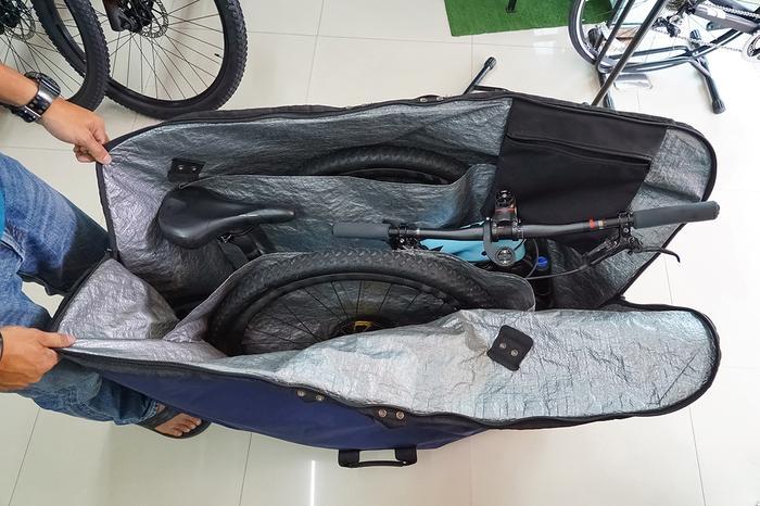 Spakowany rower