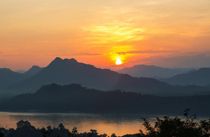 Wieczór nad Mekongiem