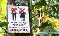 Zakaz chodzenia nieubranym