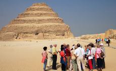Turyści w Egipcie