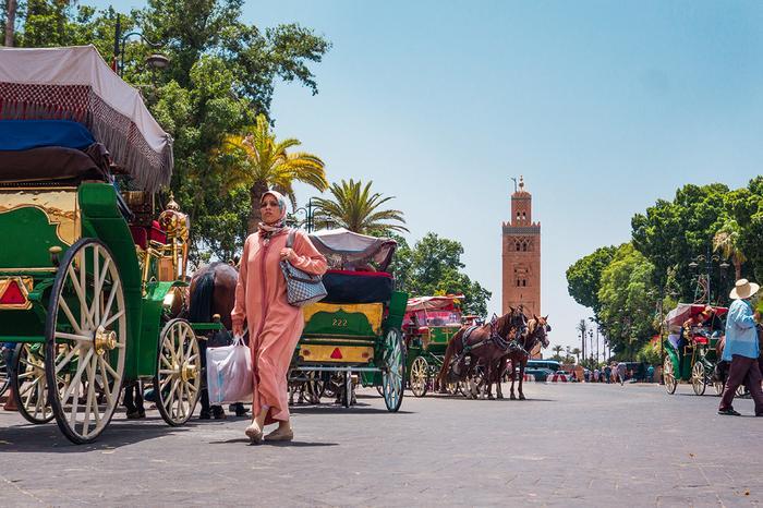 Meczet Kutubijja to najważniejszy punkt orientacyjny w Marrakeszu