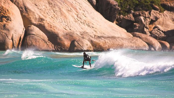 Surferzy w RPA
