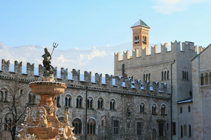 Fontanna Neptuna w Trento