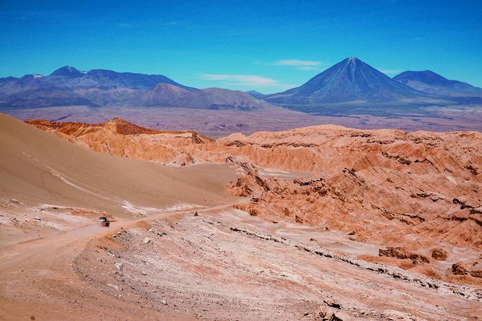 Przez pustynię Atakama w Chile na poznańskich rejestracjach