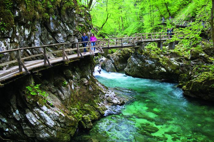 Vintgar w Słowenii