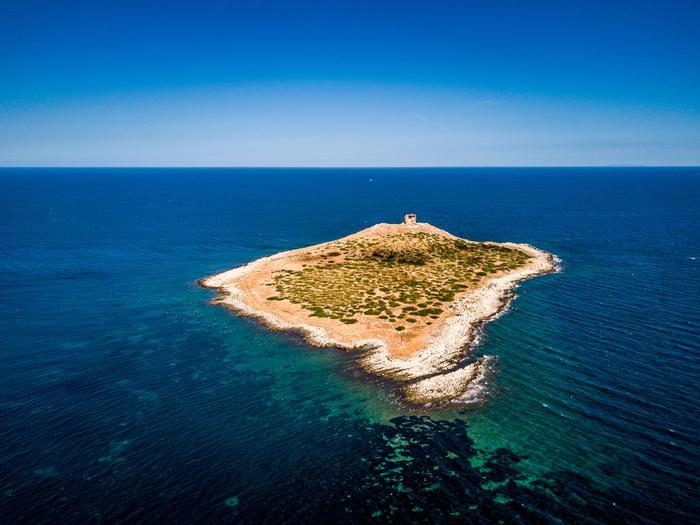 Włoska wyspa Isola delle Femmine do kupienia za milion euro