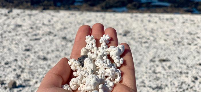 Popcornowa plaża