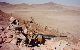 Michał Paćko, weteran misji w Afganistanie fot. Michał Paćko - archiwum prywatne