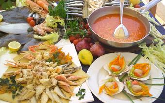 Symbolami lokalnej kuchni są świeże ryby prosto z Adriatyku