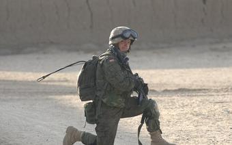 Weteran misji bojowej w Afganistanie plutonowy Michał Paćko