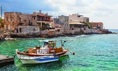 Port w Grecji