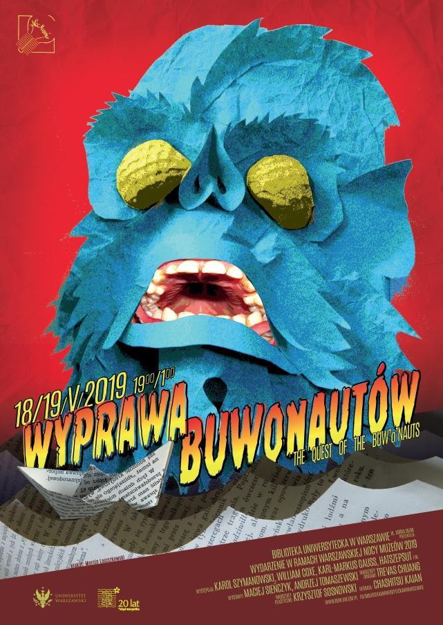 Noc Muzeów w BUW - Wyprawa BUWonatorów