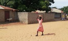 Afrykańska dziewczynka, zdjęcie ilustracyjne