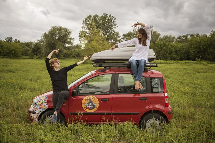 Mongol Rally. Polska drużyna - Magdalena Gorlas i Karolina Jonderko