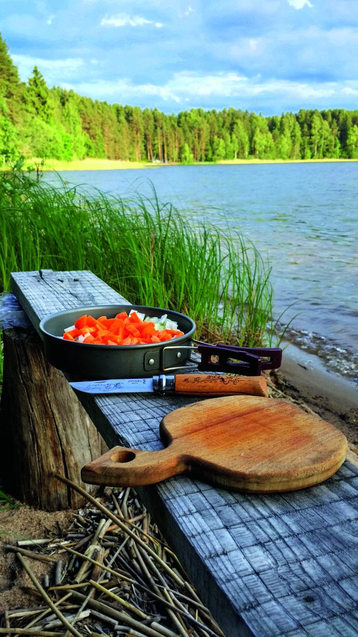 Gotowanie na łonie natury