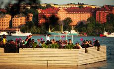 Słońce, woda, pełen relaks – typowy letni wieczór nad jeziorem Melar