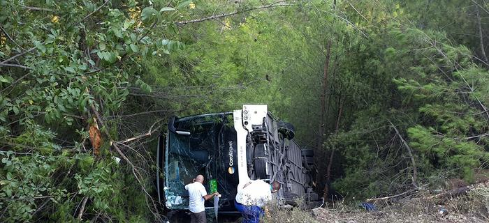 Wypadek autokaru w Turcji