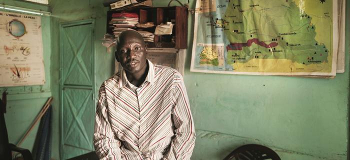 Mor Talla Gueye, 48 lat, dyrektor szkoły w Gueoul.