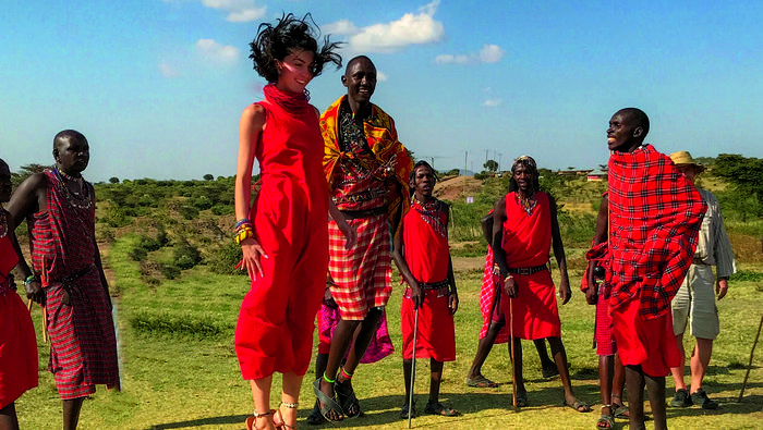 Spłnione marzenie, czyli spotkanie z Masajami Fot. archiwum prywatne @SZPILKIWPLECAKU