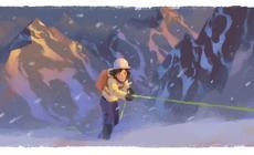 Wanda Rutkiewicz w Google Doodle. 41 lat temu Polka zdobyła Mount Everest