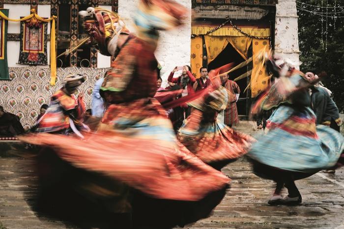Bhutan. Siła buddyjskiego tańca