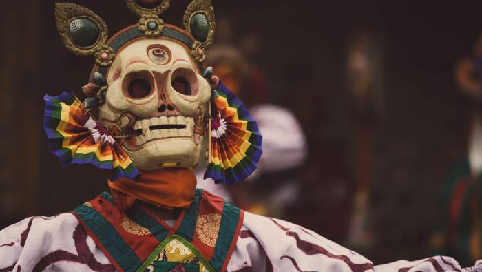 Festiwal taneczny w Bhutanie