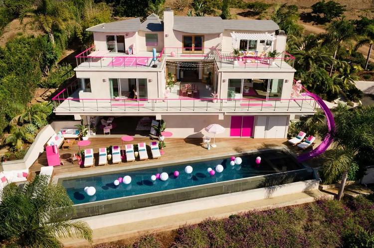 Dom Barbie w Malibu