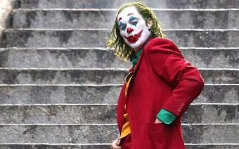Scena z filmu Joker