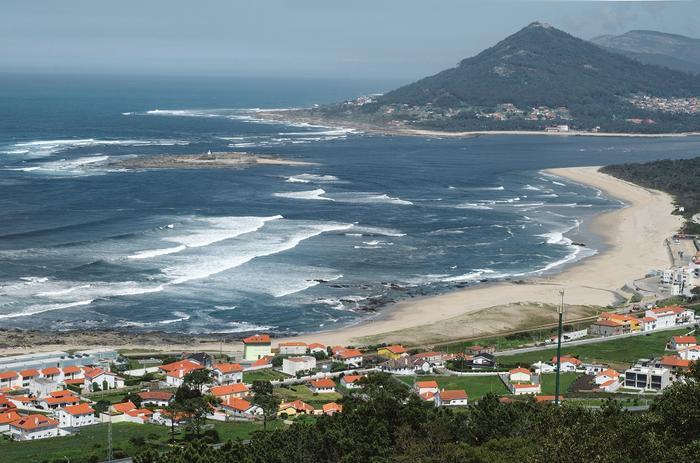Portugalia, Plaża w miejscowości Caminha