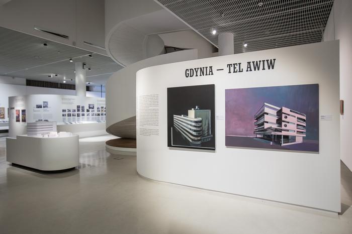"""Wystawa """"Gdynia – Tel Awiw"""" w Muzeum Historii Żydów Polskich POLIN"""
